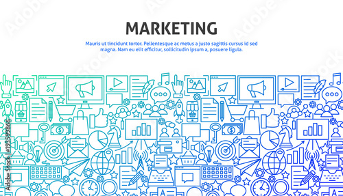 Photo  Marketing Design Concept