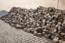 Heaps Of Cobblestones, Pavemen...