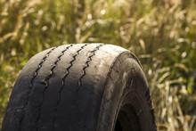 Close-up Detail Of Car Wheel T...