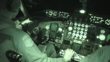 US Air Force 100th Air Refueling Wing Pilot Flies The KC-135 Stratotanker