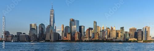 Skyline of Lower Manhattan Poster