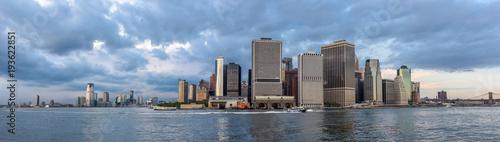 Zdjęcie XXL Skyline dolnego Manhattanu
