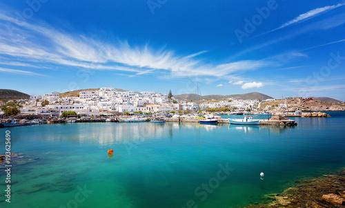 Photo Travel Greece: Picturesque Naousa village, Paros island, Cyclades, Greece