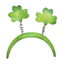 Happy St. Patrick's Day Horned...