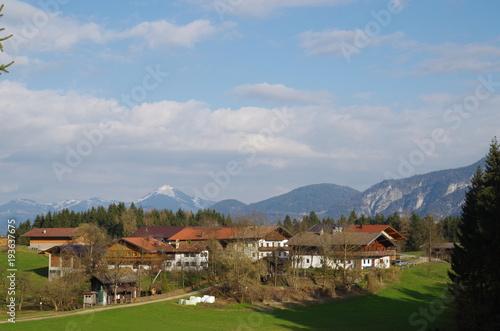 Deurstickers Poolcirkel Tirol Alpen Österreich Inntal Oberberg