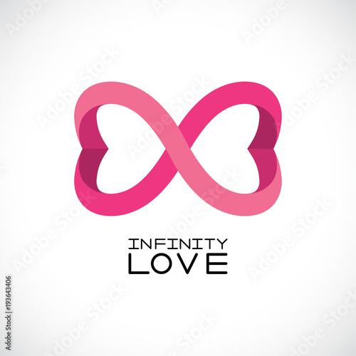 Fotografia  Infinite love symbol