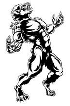 Werewolf Horror Monster