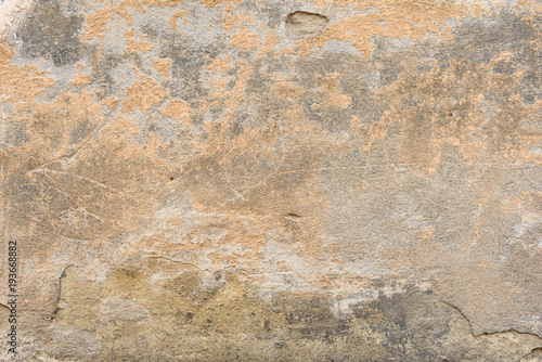 Cadres-photo bureau Vieux mur texturé sale Wall fragment with scratches and cracks