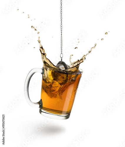 Photo  cup of tea