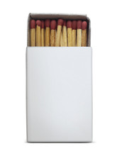 A Close-up Of Wooden Matches I...