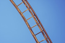 Section Of Rollercoaster Track...