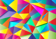 colorful abstract polygon 1