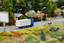 Model Or Model Of A Blue Truck...