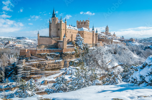 Photographie The Alcazar of Segovia