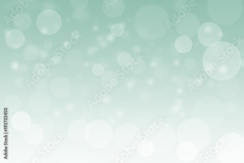 Fototapety, obrazy: Abstract blue bokeh background