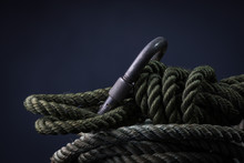 Green Rope Coil
