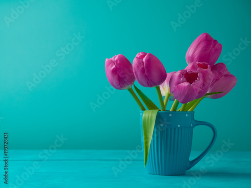In de dag Tulp Tulip flowers bouquet
