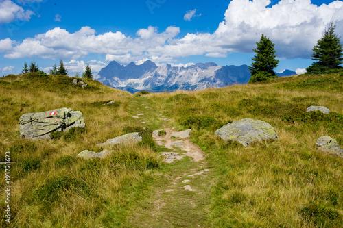Photo sur Aluminium Kaki Dachstein Hochwurzen Alpen Österreich Ramsau Schladming