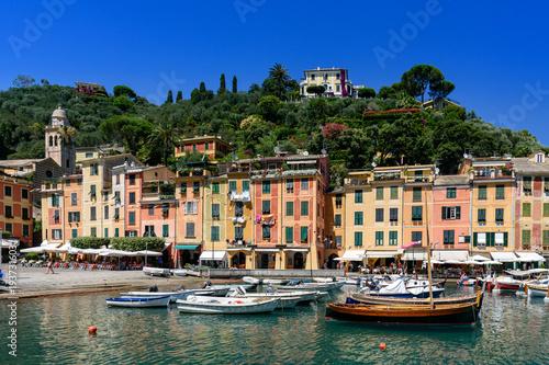 Canvas Prints view of Portofino, Italy