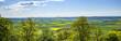 Wiesen und Felder bei Marburg, Hessen