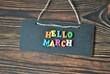 Hello March - koncept