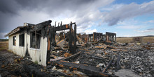 Home Destroyed By Fire Caused By Lightning