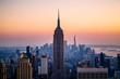 Panorama of the Manhattan skyline