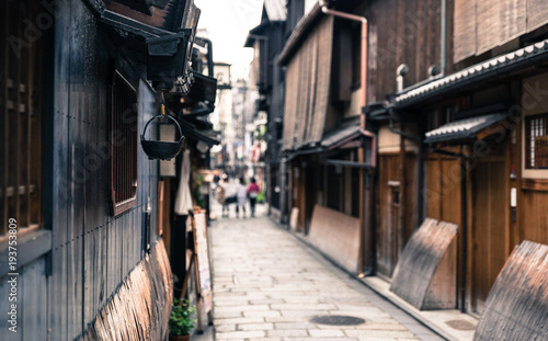 京都 祇園の路地