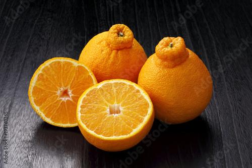 不知火(デコポン) Citrus reticulata Siranui