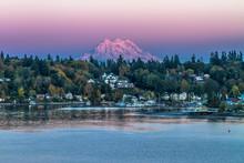 Sunset Over Mt. Rainier
