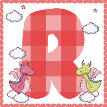 R Alphabet Letter For Kids