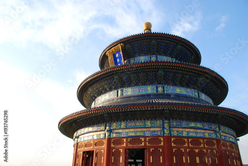 Poster Temple of Heaven, UNESCO World Heritage Site in Beijing, China