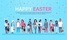 Happy Easter Greeting Card Ban...