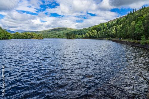 Fotomural View of Loch Katrine, Trossachs, Stirlingshire, Scotland, Britain