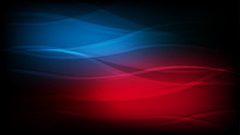 Abstract Wallpaper In Glow Red, Blue Color