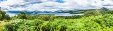 Loch Lomond Wide Panorama, Sco...