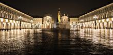 San Carlo Square Night Scene, ...