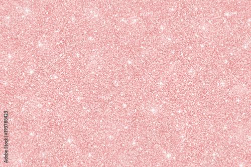 Rose gold glitter texture