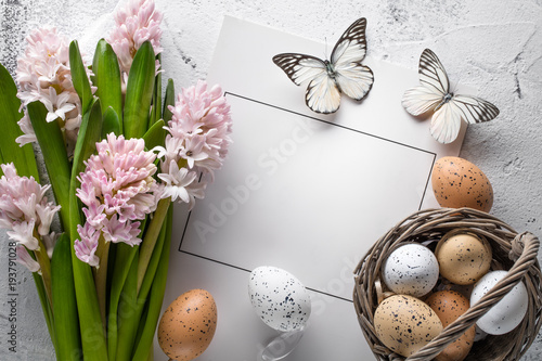 Plakat Wielkanocna dekoracja