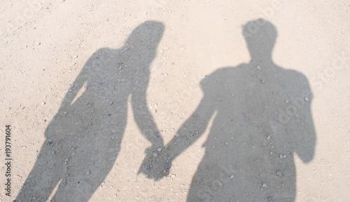 Fotografie, Obraz  Coppia che si tiene la mano