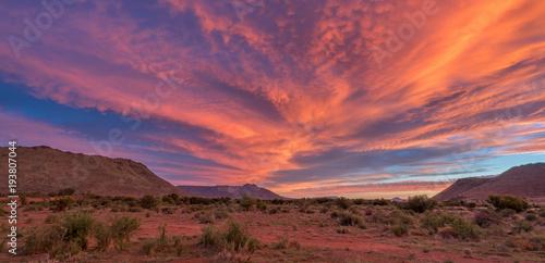 Karoo sunset Canvas Print