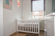 Child baby bedroom modern design white empty