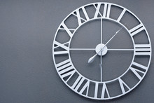 Wall Clock With Roman Numerals...