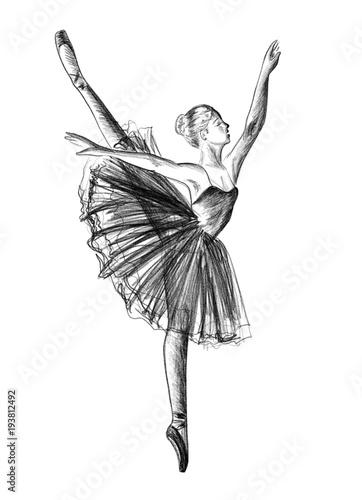 Fotografie, Obraz  Ballerina