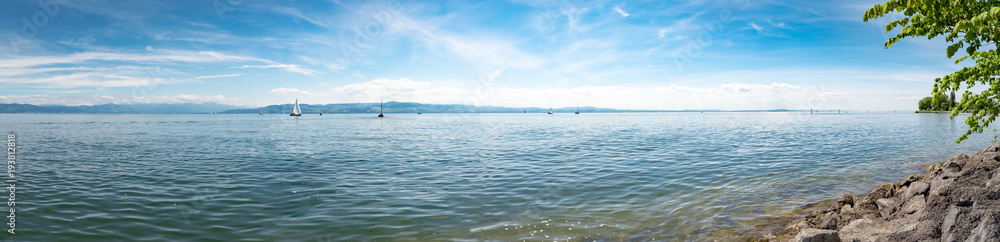Am Ufer des Bodensees, Panorama