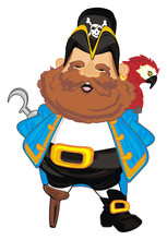 Pirate, Robber, Illustration, ...