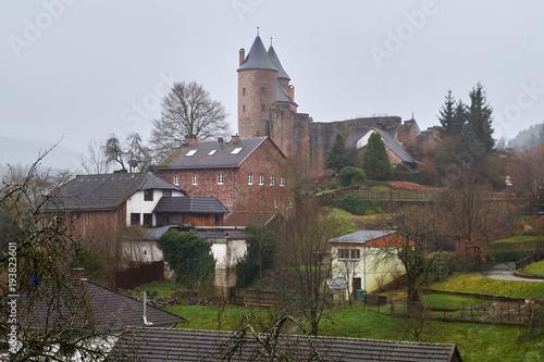 Plakat bertradburg in mürlenbach