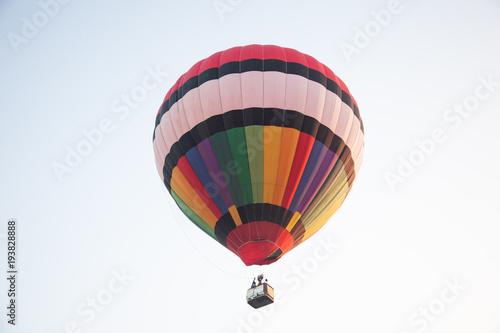 In de dag Ballon Colorful hot air balloon.