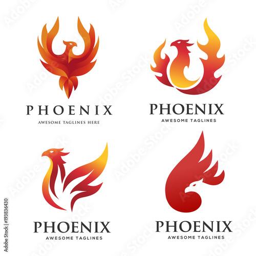 Fabulous Luxury Phoenix Logo Concept Best Phoenix Bird Logo Design Download Free Architecture Designs Licukmadebymaigaardcom