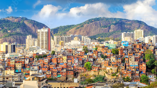 Rio de Janeiro downtown Canvas Print